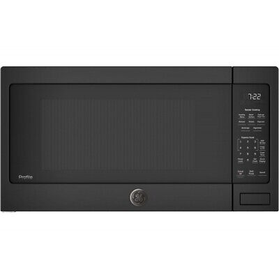 GE Profile Black Countertop Microwave Oven