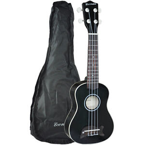 Brand-New-Soprano-Dolphin-Ukulele-Basswood-body-Nato-Neck-Timber-With-Carry-Bag