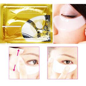 Collagen Eye Mask Anti Wrinkle Bags Ageing Crystal Eyelid Patch Pad Moisturiser