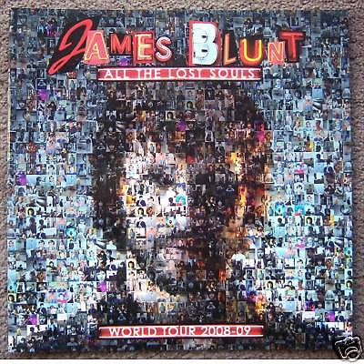 JAMES BLUNT! LOST SOULS TOUR 2008 09 TOUR BOOK NEW RARE