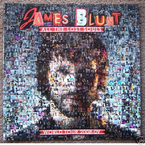 James Blunt Lost Souls Tour 2008 09 Tour Book New Rare