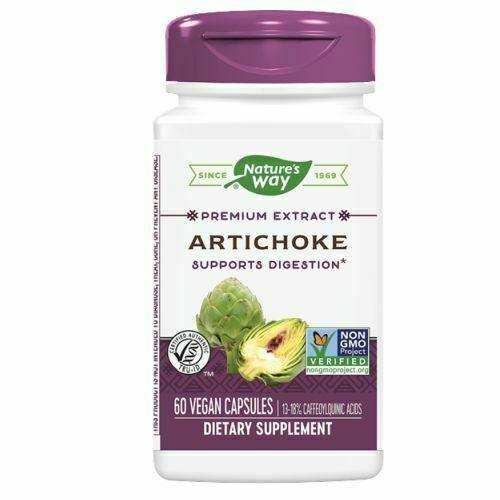 Nature's Way Artichoke Standardized Extract 60 Caps