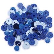 Blue Buttons Lot
