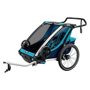 Thule Chariot Cross Multisport Trailer 2, Blue/Poseidon NEW
