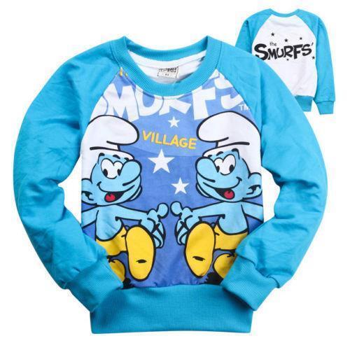 Smurf t shirt ebay