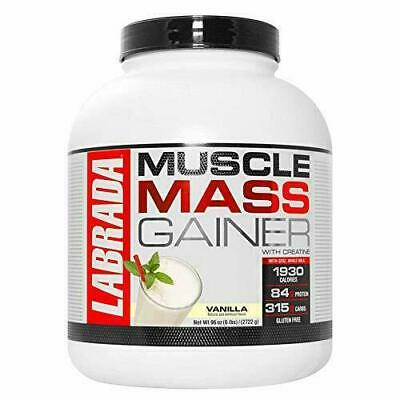 nutrition muscle mass gainer with creatine vanilla
