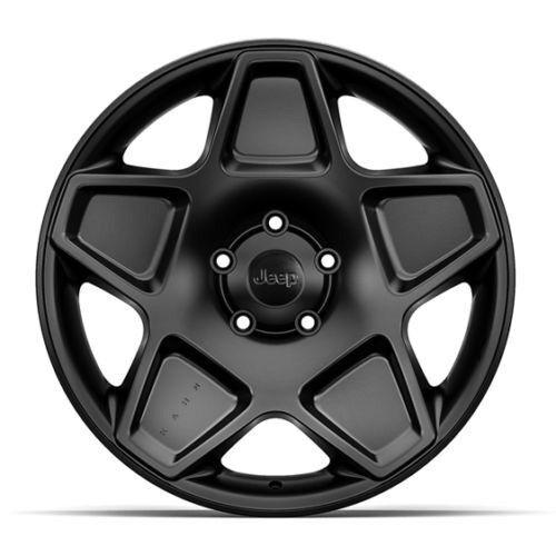 Jeep Wrangler JK 20inch Alloy Wheels Black Kahn Mondial Set of 5