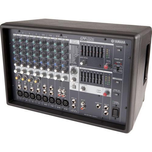Yamaha powered mixer ebay for Yamaha emx 312sc