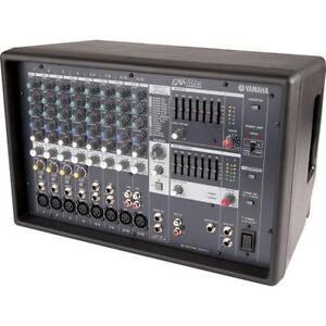 Yamaha mixer ebay for Yamaha powered mixers