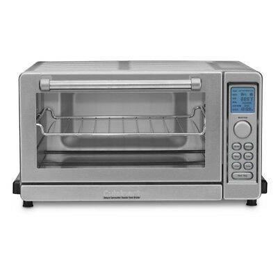 Cuisinart TOB-135 Deluxe Convection Toaster Oven Broiler (Stainless Dagger)
