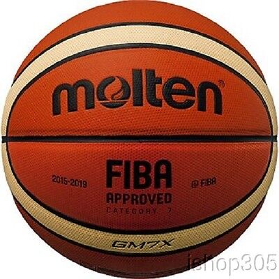 Molten Gm7x Fiba Approved Indoor Outdoor Basketball Official 29 5
