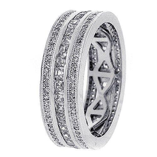 Mens White Gold Diamond Ring Ebay