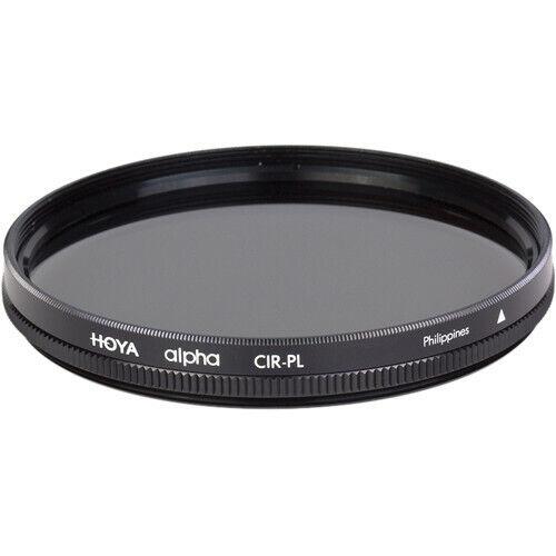 Hoya ALPHA 72mm Circular Polarizer Filter - For Digital *AUTHORIZED HOYA DEALER*