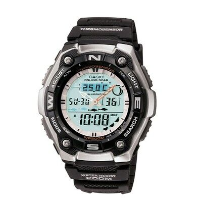 Casio Mens Aqw101 1Avcf Active Dial Multi Task Gear Sport Watch