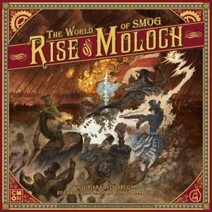 BOARD GAME - Rise of Moloch KICKSTARTER (SEALED)