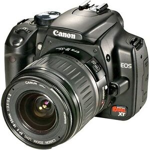 Canon Rebel with 2 lenses