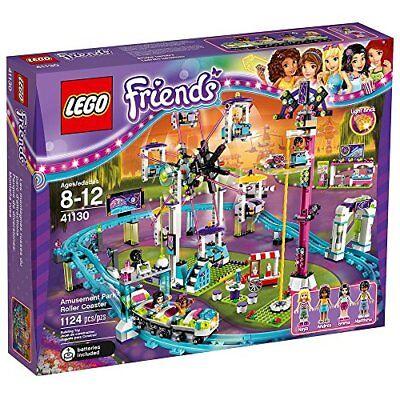 New Lego Friends Amusement Park Roller Coaster 41130