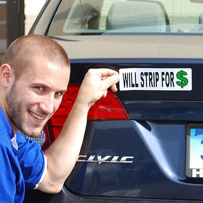 10 Funny Ass Prank Gag Magnet - Assorted Set Car Truck Fridge Bumper + 1 Million
