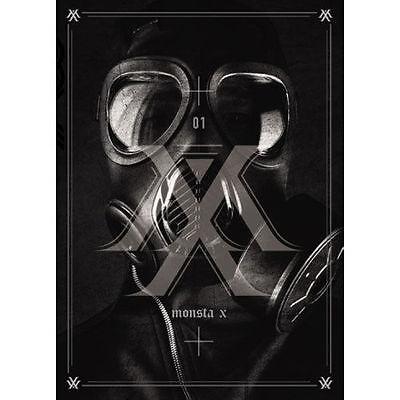 MONSTA X-[TRESPASS] 1st Album CD+Photocard+92p Booklet+Store Gift+Tracking K-POP