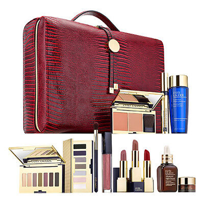 Estee Lauder 2017 Holiday Blockbuster 12 Full Size Items $455 Value SMOKY - Holiday Items