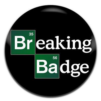 Breaking Bad 25mm TV Keyring Button Badge Zip Pull Option Cap/'n Cook Cereal