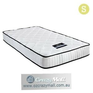 21cm Thick High Density Foam Single Pocket Spring Mattress Melbourne CBD Melbourne City Preview