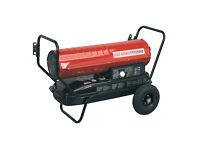 Sealey AB1258 Space Warmer® Paraffin, Kerosene & Diesel Heater 125,000btu/hr