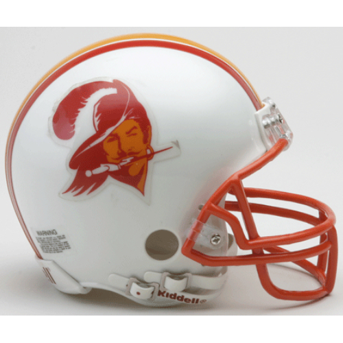 Riddell Tampa Bay Buccaneers Mini Replica Throwback Helmet