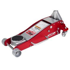 Arcan Low Profile Hydraulic Aluminum Race Car Trolley Jack 1.8T 1800KG Dual Pump