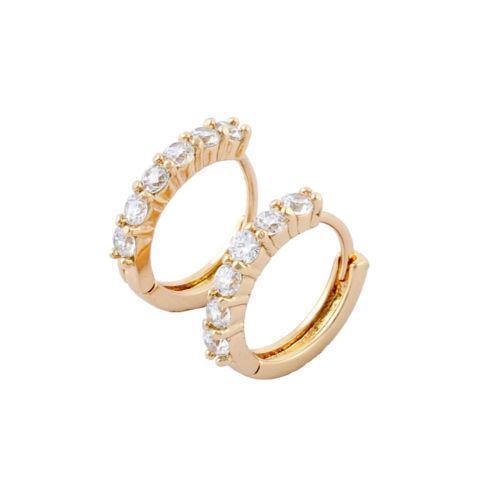 thin hoop earrings ebay