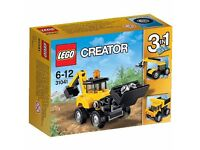 LEGO Creator 31041 Construction Vehicles Set. Brand new in sealed box