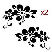 Hawaiian Flower Decal