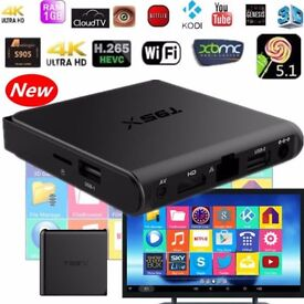 Latest 2017 T95X Android TV Boxes for Sale - Android 6.0, Custom Build