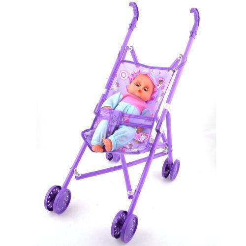 Baby Doll Toy Stroller Ebay