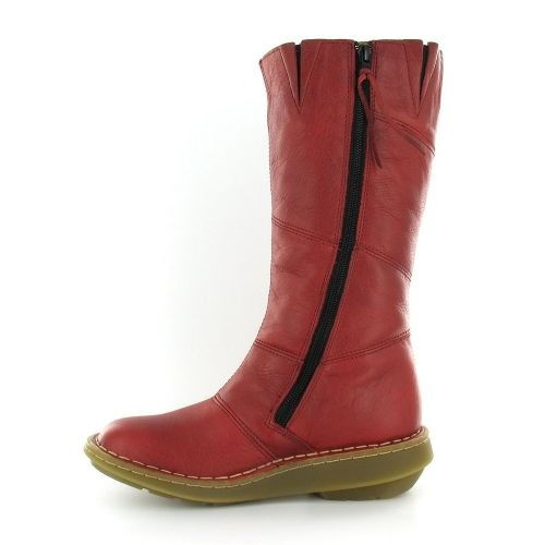 Dr Martens Red Leather Boots Ladies 8 UK