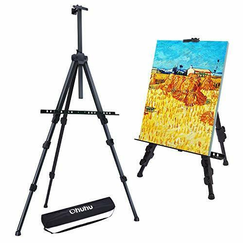 "Large Artist Tripod 72"" Easel Floor Stand Adjustable Display Art Painting Board"