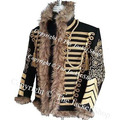 Jimi Hendrix Hussars Military Jacket