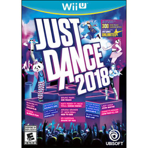 JUST DANCE 2018 (WII U) *BRAND NEW IN PACKAGE*