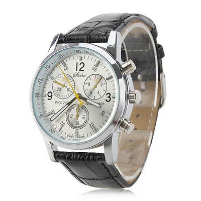 Kyпить Men's Fashion Leather Stainless Steel Sport Analog Quartz Wrist Watch Waterproof на еВаy.соm