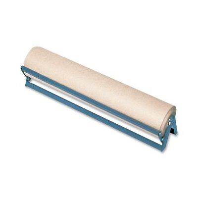 Sparco Horizontal Paper Rack With Cutter - 1 Roll[s] - 1 Each - Brown (SPR24318)