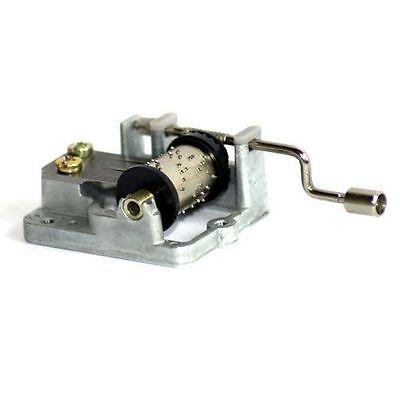 Spieluhr Minidrehorgel In der Weihnachtsbäckerei mit Kurbel Miniatur aus Metall