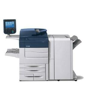 A Unique one of a kind PRO series Xerox Color C60 PRo Photocopier Copy Machine High Speed 60 PPM High Quality Finisher