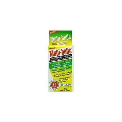 (4 Pack Multi-Betic Multi-Vitamin & Mineral Supplement 60 Tablets Each)