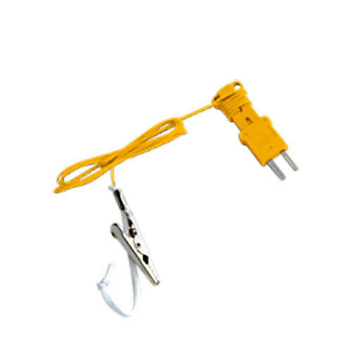 Fieldpiece ATWB1 K-type Web Bulb Thermocouple with Alligator Clip