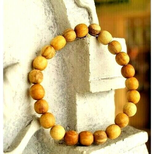 Holy Wood Bracelet PALO SANTO Peruvian 100% Hand Crafted-Very Own Aromatic 1pc