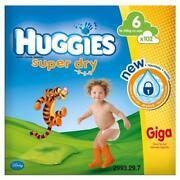 Huggies 6