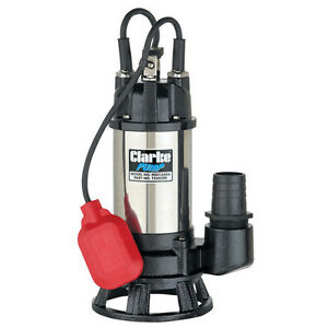 Clarke HSEC650A Heavy Duty 2 inch Industrial Submersible Water Pump