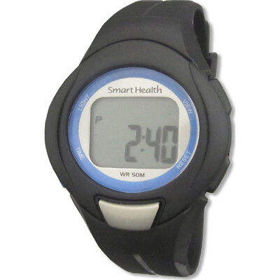 Smart Health Walking Fit EKG Accurate Heart Rate Watch Black 21088 NEW SEALED