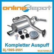 Audi A4 B5 Auspuff