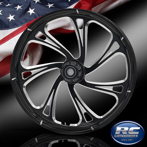 "Rc Components Patriot Trigger Eclipse 23"" Front Wheel Rim Harley Touring Bagger"